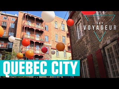 Quebec City : tourist guide in english - video guide tour in 4K