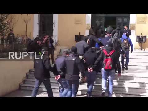 Greece: Eleven C18 members appear in Athens court after raid