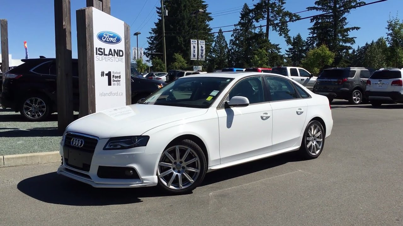 2010 Audi A4 Automatic Select Shift Quattro 2 0t Review Island