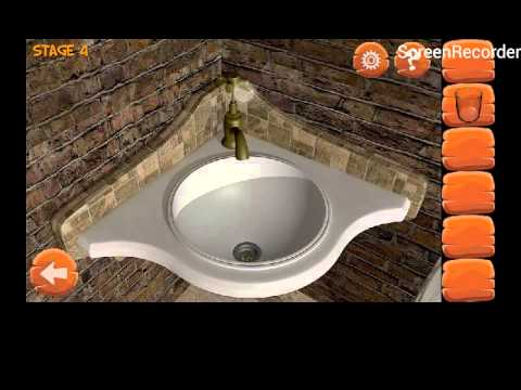 Escape The Bathroom Level 4 escape fever level 4 walkthrough - youtube