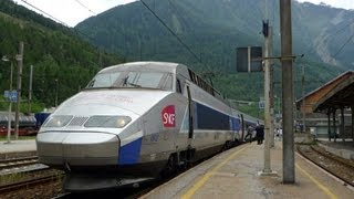 Paris to Milan by TGV train - video guide