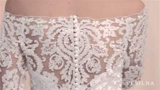Свадебное платье 2016 года от VESILNA™ модель 3082
