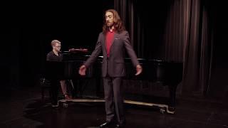 """David Carriaga Hobbs -  """"Mein Sehnen, Mein Wähnen"""" (Die tote Stadt, Korngold)"""