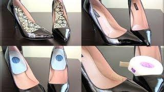 How to Make Walking in Heels Comfortable! 5 Easy Tips!