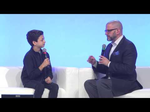 JJ Totah Interview at Premiere Event