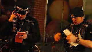 KLFM on patrol with Norfolk Police