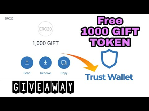GIFT TOKEN (GIFT) 1,000 Free Tokens Airdrop in Trust Wallet | My Crypto Diary