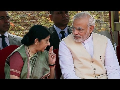 Sushma Swaraj informs, Ministry of Overseas Indian Affairs merged with MEA
