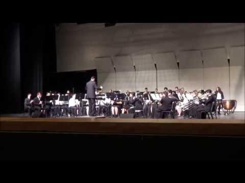 Anaheim HS Symphonic Band - 2018 AUHSD Band & Orchestra Festival Performance