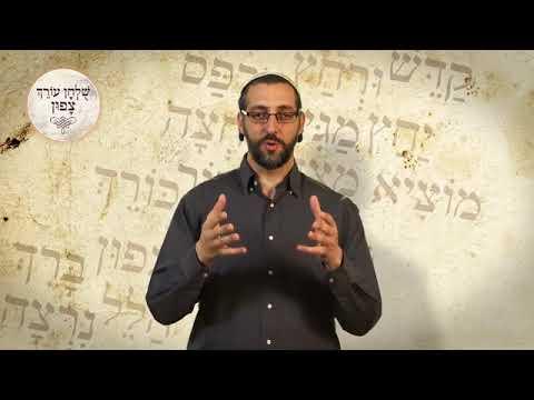מה עניין הסימנים שולחן עורך וצפון   הרב אורן אלעד