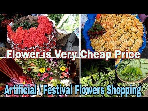 phool-market-dadar-|-phool-gali-|-dadar-wholesale-market