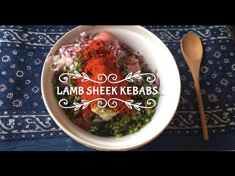 Juicy Lamb Sheek Kebabs Recipe