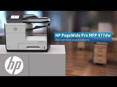 HP PageWide Pro MFP 477dw Product Video | HP PageWide | HP
