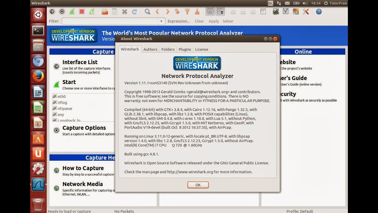 How to Install Wireshark in RHEL Linux, CentOS Server 7 & Fedora  Workstation 21|22|23