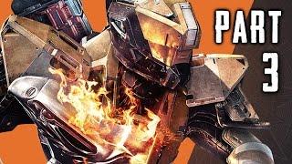 Destiny The Taken King Walkthrough Gameplay Part 3 - Sunbreaker Subclass - Mission 3 (PS4)