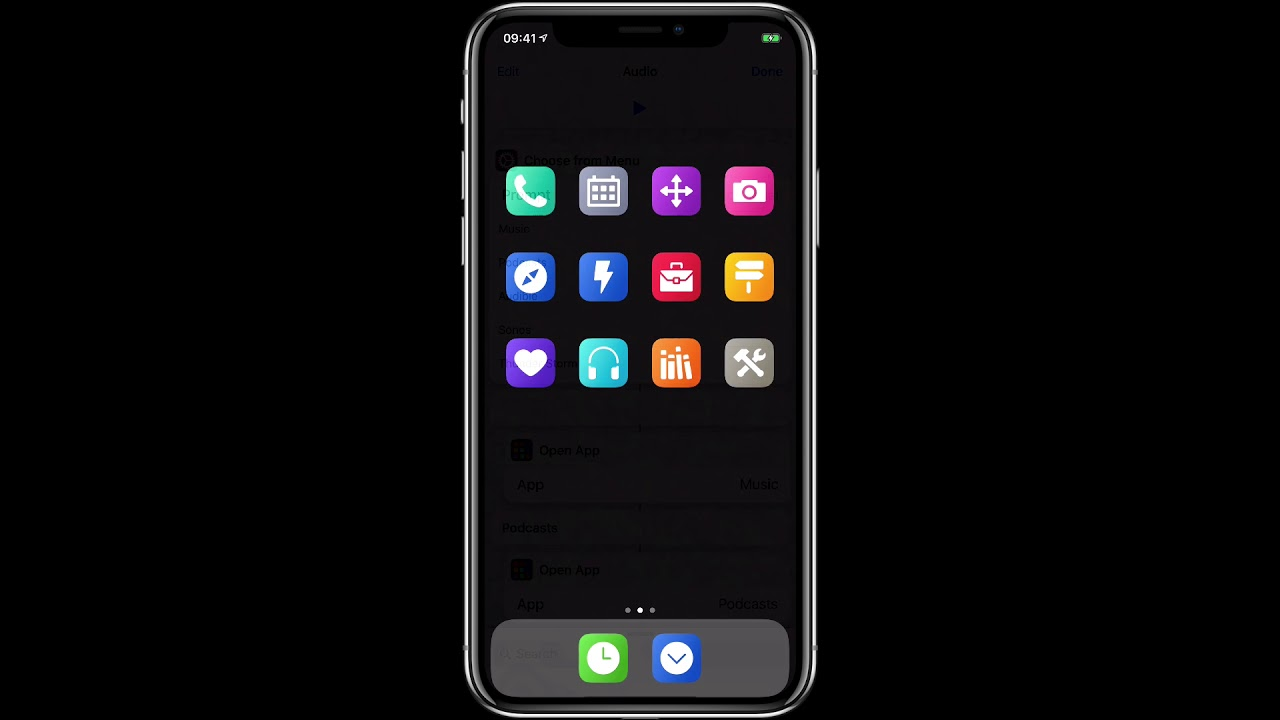 The Siri Shortcuts Home Screen