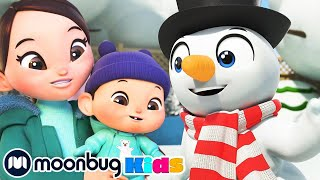 Build a Magic Snowman - Winter Family Fun | Cartoons For Kids | Special Christmas | Moonbug Kids