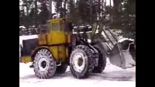 Трактор К 701 Кировец .чистит снег.(, 2014-02-21T10:33:46.000Z)