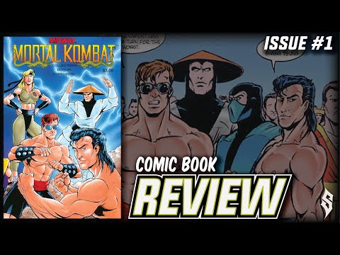Mortal Kombat (Issue #1) - Comic Book Review