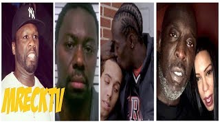 50 Cent Calls Michael K Williams Suspect Aka Omar From 'The Wire Ridin W/ Jimmy Henchman|M.Reck Live