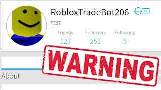 IF YOU SEE THESE ROBLOX ACCOUNTS, RUN! (Roblox)