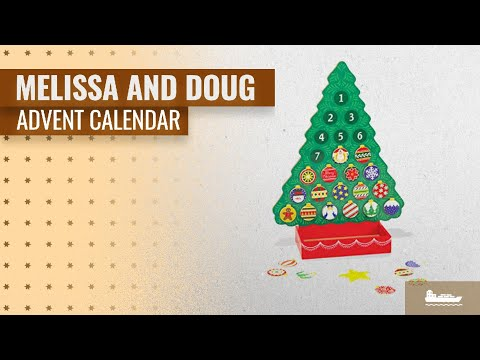 Great Melissa And Doug Advent Calendar [2018]: Melissa & Doug Wooden Advent Calendar - Magnetic