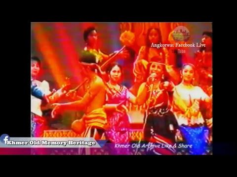 Khmer old concert TV   -The world Of music R4  Old Khmer video - VHS Khmer old-