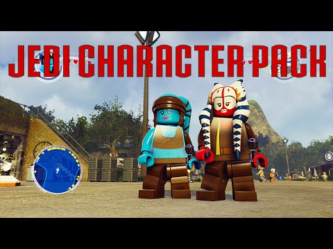 LEGO Star Wars The Force Awakens - Jedi Character Pack DLC (Season ...