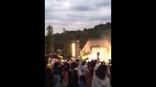 2012年8月25日に播磨中央公園にて行われたトータス松本ライブ.
