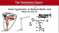 Knee Tendonitis, A Medical Myth, And What Is Required To Fix It