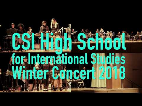 CSI High School for International Studies Winter Concert 2018