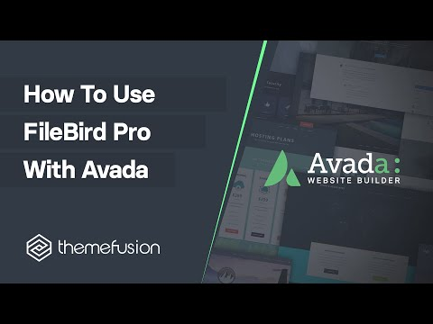 How To Use FileBird Pro With Avada Video