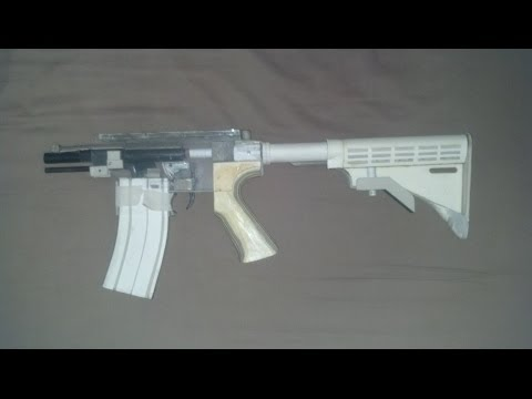 Homemade HK416 That Shoots!  Part 1