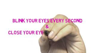 Relax your eyes in Natural Way  - HD Video