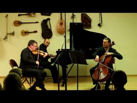 Shostakovich Piano Trio No.2 | Baldini-Uzur-Serebryany @SLC Recital Hall