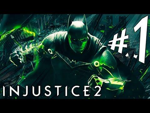 INJUSTICE 2. Parte 1. A Sociedade!!!  PS4 Pro. Playthrough