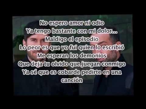 Camila - Perdón (Letra)
