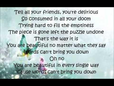 BeautifulChristina Aguilera Lyrics