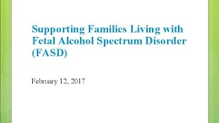 Supporting Families Coping with FASD with Tracy...