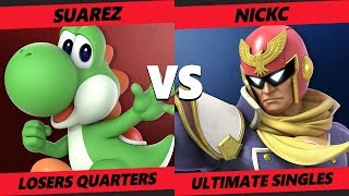 Smash at the Paramount SSBU - MTS   Suarez (Yoshi) Vs. NickC (Falcon) Smash Ultimate Tournament LQ