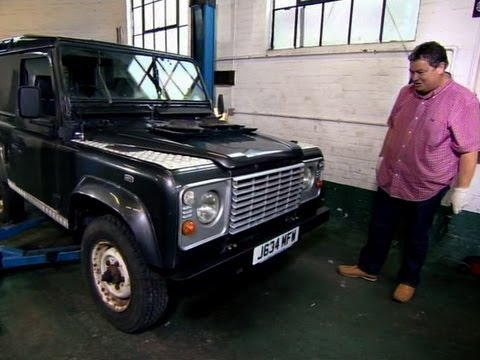 Mini Cooper Dealer >> Adding Money to a Land Rover Defender | Wheeler Dealers ...