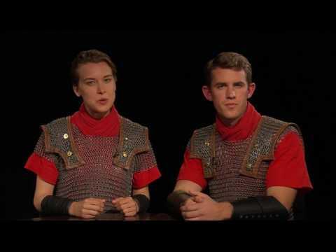 myShakespeare | Julius Caesar 5.1 Interview: Antony and Octavius