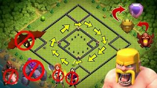 clash of clan - TROPHY PUSHING BASE DESIGN