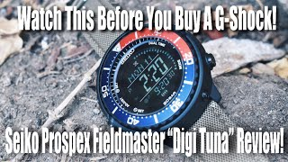 Watch This BEFORE You Buy A G-Shock!  (Seiko Prospex Digi Tuna Review!)