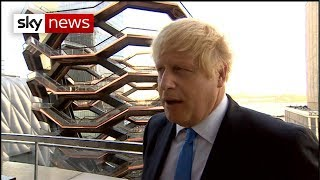 Boris Johnson reacts to Government loss at Supreme Court