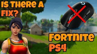 Mouse not working on Fortnite PS4 - Fix? (PATCHED)