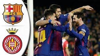 Video Barcelona vs Girona 6-1 - All Goals & Extended Highlights ● 24/02/2018 HD download MP3, 3GP, MP4, WEBM, AVI, FLV November 2018