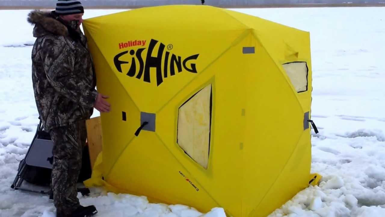 Здесь вы можете приобрести нашу фирменную продукцию для рыбалки. Предлагаем вашему вниманию наши разработки утепленные палатки для зимней подледной рыбалки