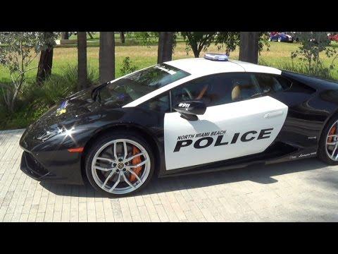 Lamborghini Huracan Police Supercar Beast Festivals Of Speed 2015
