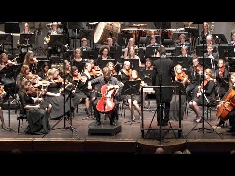 Dvorak cello concerto in Bmin Op.104, 1st mov (compilation)